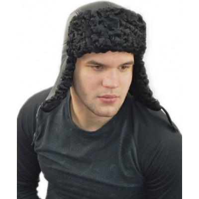 Мужская шапка из каракуля КР 072