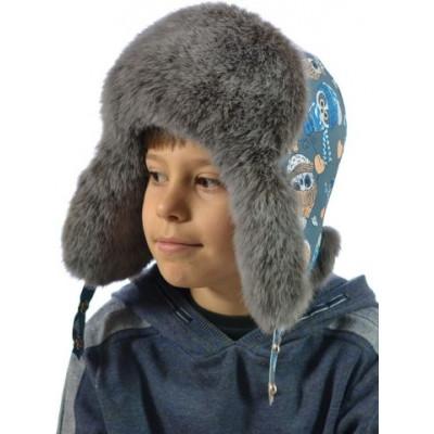 Детская меховая шапка ДМ 013