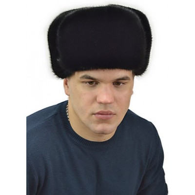 Мужская шапка из норки ШМ 030