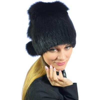 Женская меховая шапка КА 050