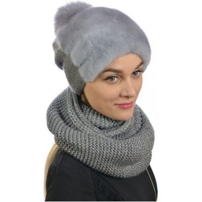 Комплект шапка и снуд ТМ-020