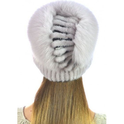 Модная норковая шапка НВ-100