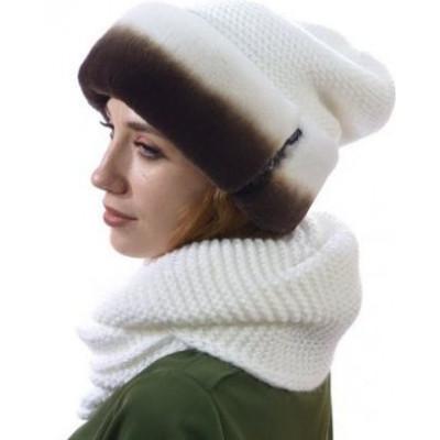 Комплект из снуда и вязаной шапки БК-003а
