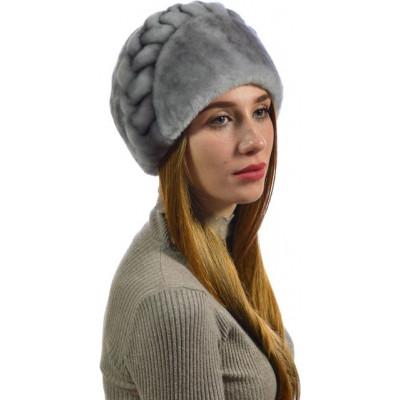Женская мутоновая шапка БМ-017
