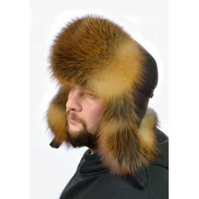 Мужская шапка из лисы ПМ-005а