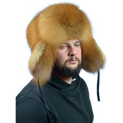 Мужская шапка из лисы ПМ-003