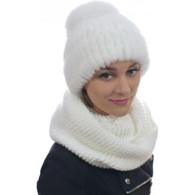Женская шапка  из кролика РЕКС ТМ-027