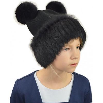 Детская меховая шапочка ДВ 030