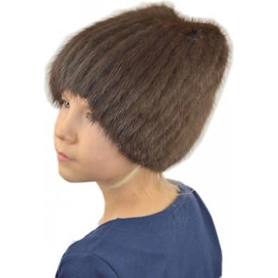 Детская ондатровая шапочка ДВ 028