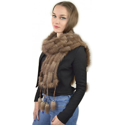Меховой шарф Ш-022