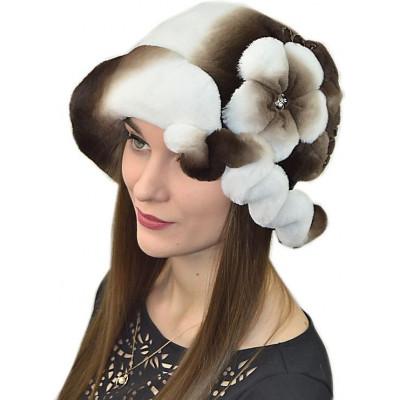 Женская шляпка из кролика БК 038