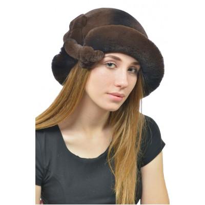 Женская шляпка из кролика ШК-010