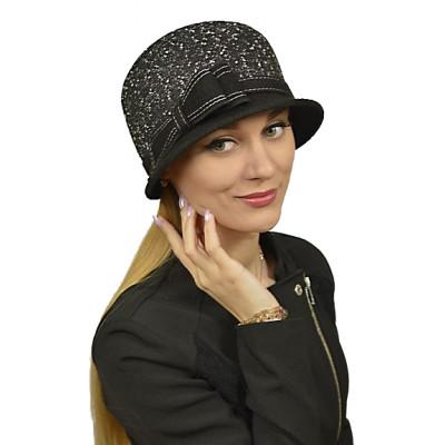 Женская шляпка из текстиля ЖШ-022