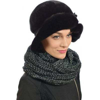Модная шляпа из норки НН-028