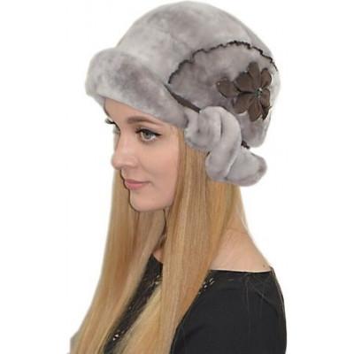 Женская шапка  из мутона БМ 048в