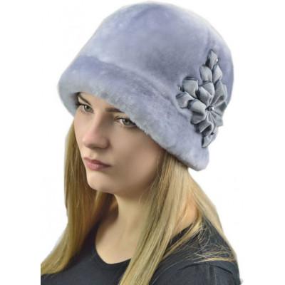 Меховая шляпка из мутона БМ 068