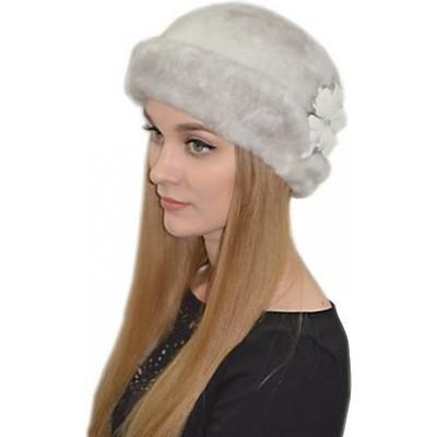 Женская шапка из мутона БМ 074