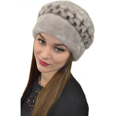 Женская меховая шапка БМ 051а