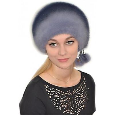 Меховая женская шапка НН 018
