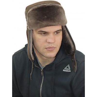 Мужская шапка из мутона ВК 047