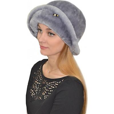 Женская шляпа из мутона БМ 030а