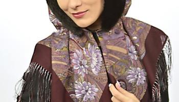 Платки с мехом – кому носить